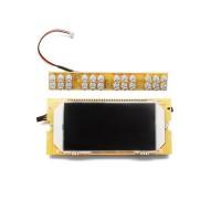Дисплей Kugoo S2/S3/S4/F3 Pro/S3 Pro в сборе(ЖК-дисплей, LED фара, датчики курка газа/тормоза, звуковой сигнал)