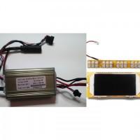 Контроллер + дисплей с фарой и датчиками газа/тормоза Kugoo S1/S2/S3/S4/S3 Pro